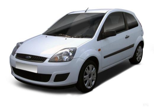 FORD Fiesta VI hatchback biały przedni lewy