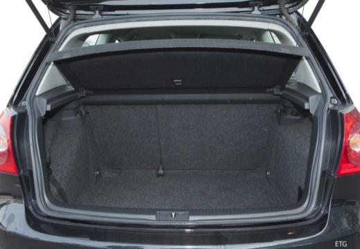VOLKSWAGEN Golf V hatchback przestrzeń załadunkowa
