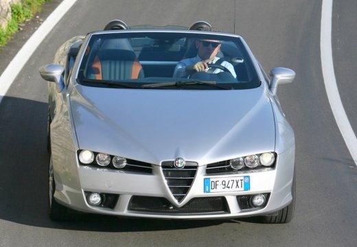 ALFA ROMEO Spider V kabriolet silver grey przedni prawy