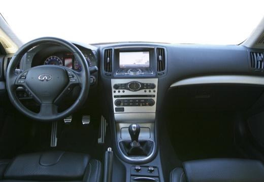 INFINITI G37 coupe biały tablica rozdzielcza