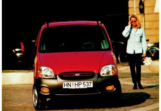 HYUNDAI Atos I hatchback czerwony jasny przedni