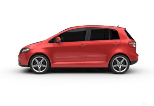 VOLKSWAGEN Golf V Plus hatchback boczny lewy