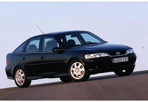 OPEL Vectra B II hatchback czarny przedni prawy