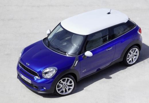 MINI [BMW] Paceman hatchback niebieski jasny przedni lewy