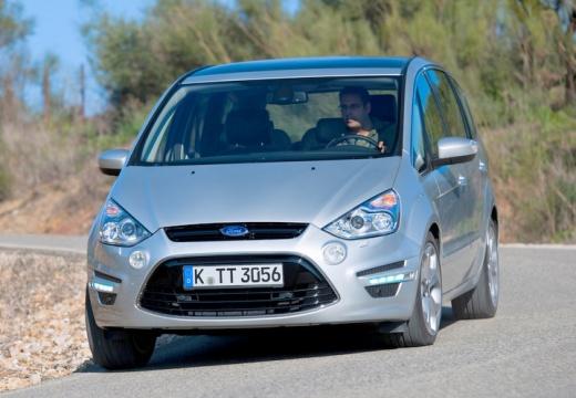 FORD S-MAX II van silver grey przedni lewy