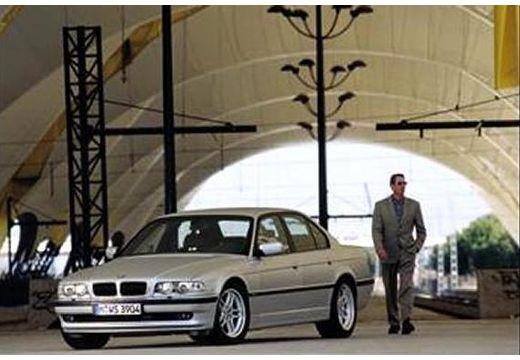BMW Seria 7 E38 sedan silver grey przedni lewy