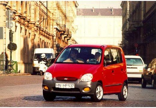 HYUNDAI Atos I hatchback czerwony jasny przedni lewy