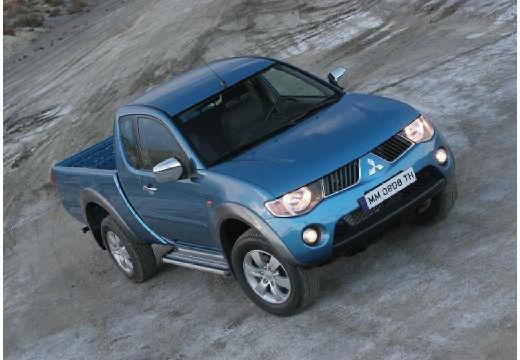 MITSUBISHI L 200 II pickup niebieski jasny przedni prawy
