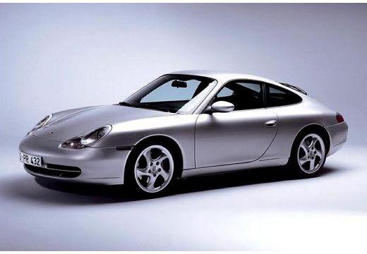 PORSCHE 911 coupe silver grey przedni lewy