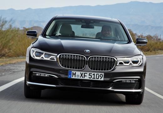 BMW Seria 7 G11 G12 I sedan czarny przedni