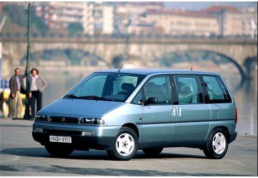 FIAT Ulysse II van niebieski jasny przedni lewy