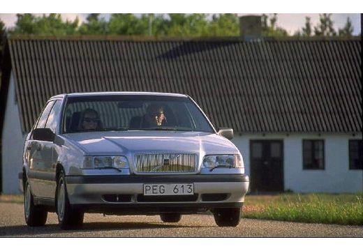 VOLVO 850 sedan silver grey przedni prawy