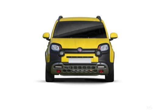 FIAT Panda III hatchback żółty przedni