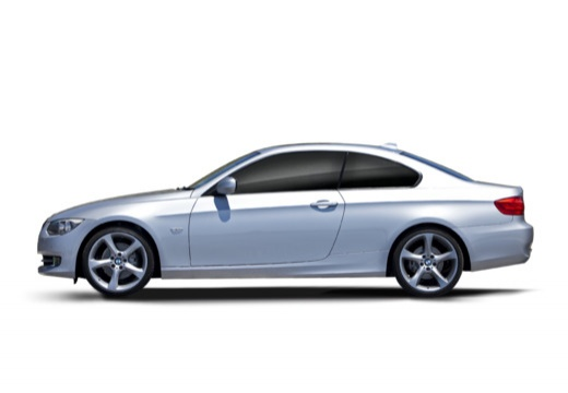BMW Seria 3 E92 II coupe boczny lewy