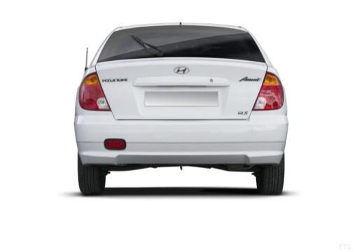 HYUNDAI Accent III hatchback tylny