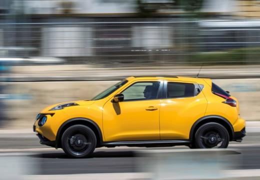 NISSAN Juke II hatchback żółty boczny lewy