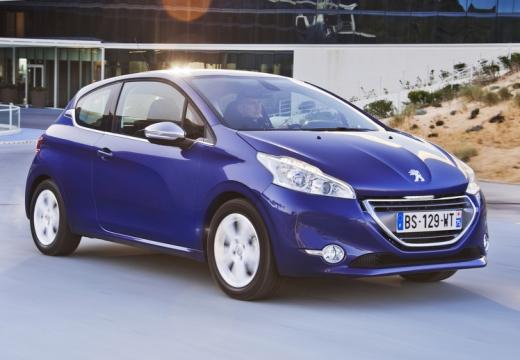PEUGEOT 208 I hatchback niebieski jasny przedni prawy