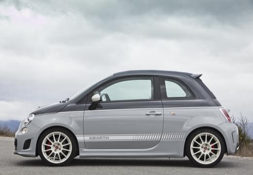 FIAT 500 C I kabriolet boczny lewy