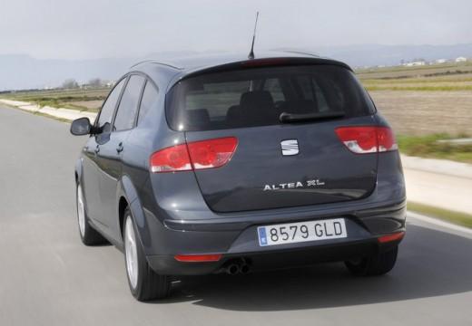 SEAT Altea XL II hatchback szary ciemny tylny lewy