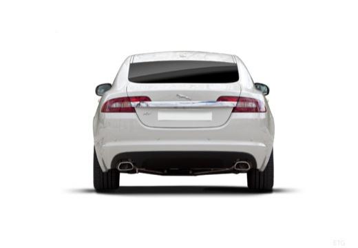 JAGUAR XF sedan biały tylny