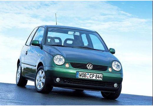 VOLKSWAGEN Lupo hatchback zielony przedni prawy