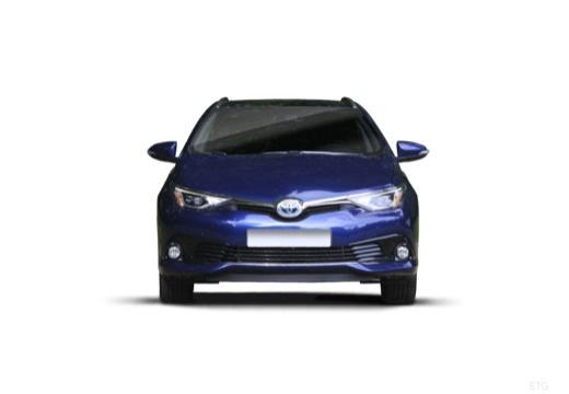 Toyota Auris kombi niebieski jasny przedni