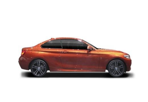 BMW Seria 2 coupe boczny prawy