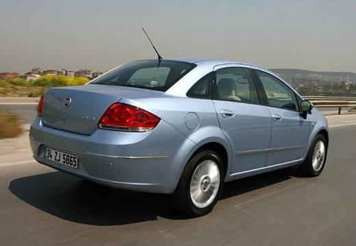 FIAT Linea sedan niebieski jasny tylny prawy