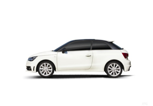 AUDI A1 I hatchback boczny lewy