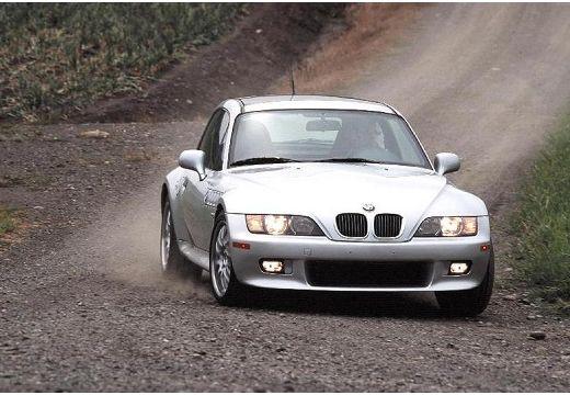 BMW Z3 coupe silver grey przedni prawy
