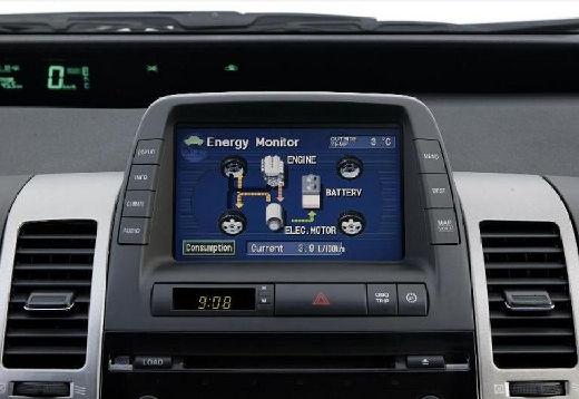 Toyota Prius I hatchback szczegółowe opcje