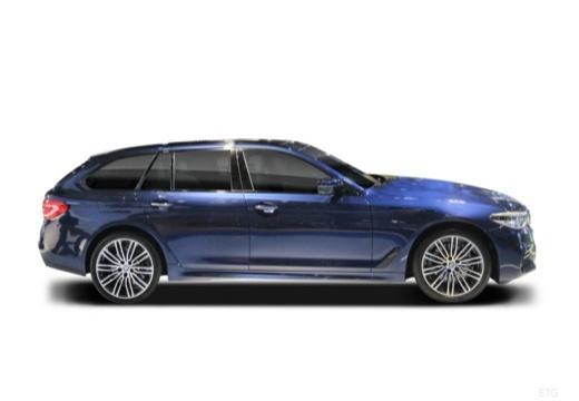 BMW Seria 5 Touring G31 kombi boczny prawy