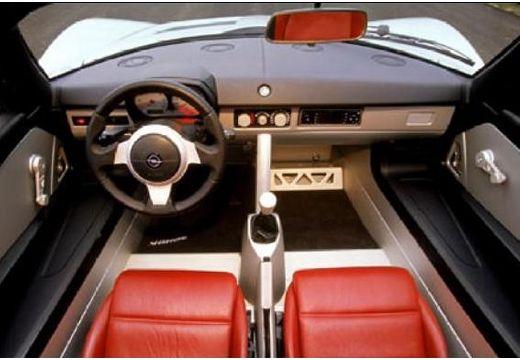 OPEL Speedster roadster wnętrze