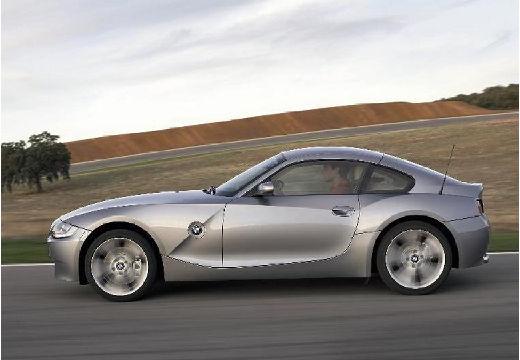 BMW Z4 coupe silver grey boczny lewy
