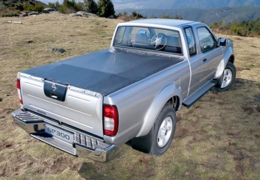 NISSAN Pick Up NP300 pickup silver grey tylny prawy
