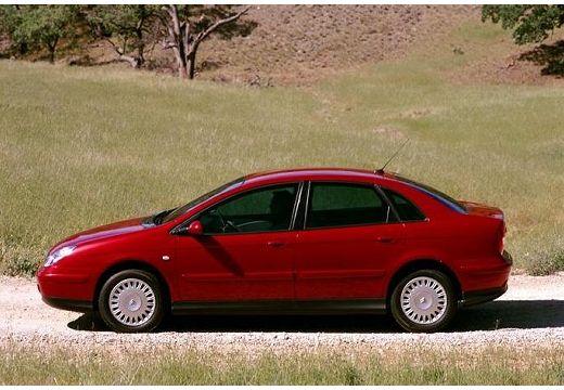 CITROEN C5 I hatchback czerwony jasny boczny lewy