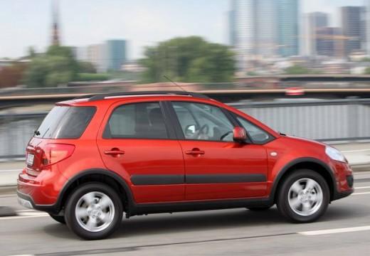 SUZUKI SX4 II hatchback czerwony jasny tylny prawy