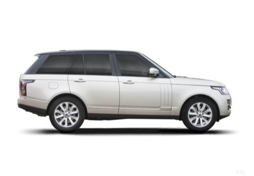 LAND ROVER Range Rover VI kombi biały boczny prawy