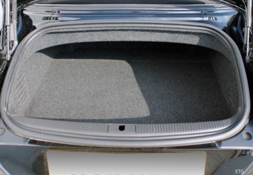 AUDI TT II roadster przestrzeń załadunkowa