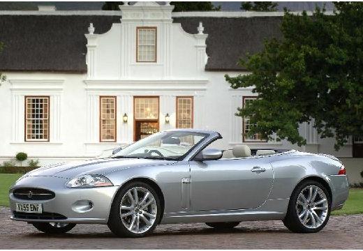 JAGUAR XK kabriolet silver grey przedni lewy
