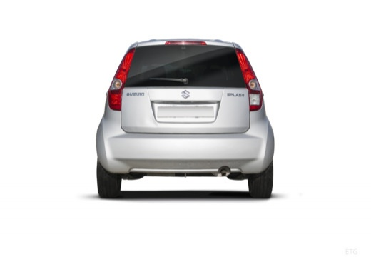 SUZUKI Splash I hatchback silver grey tylny