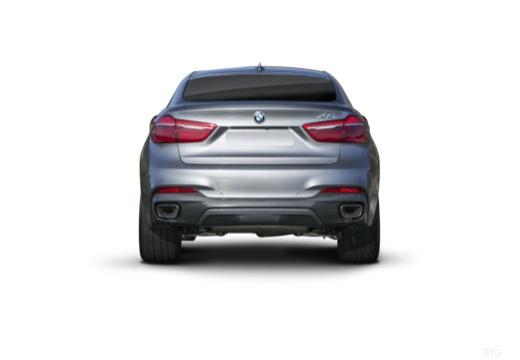 BMW X6 hatchback tylny
