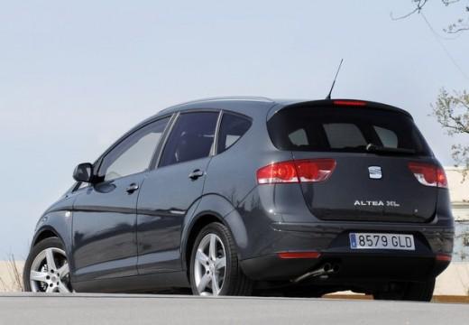 SEAT Altea hatchback szary ciemny tylny lewy