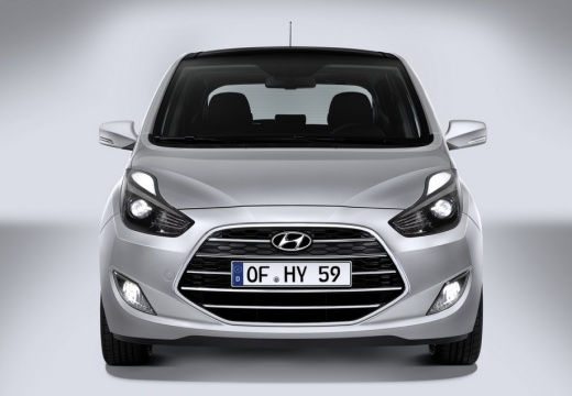 HYUNDAI ix20 II hatchback silver grey przedni