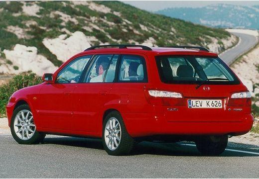 MAZDA 626 IV kombi czerwony jasny tylny lewy