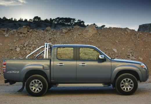 MAZDA B-seria pickup niebieski jasny boczny prawy