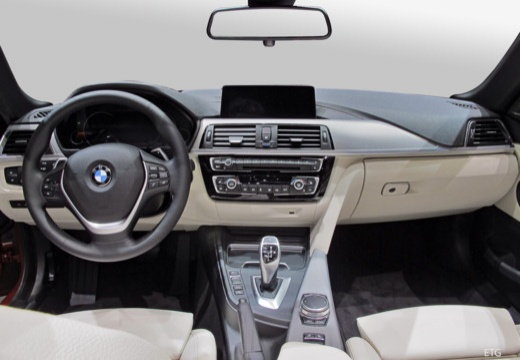 BMW Seria 4 Cabrio F33/F83 kabriolet tablica rozdzielcza