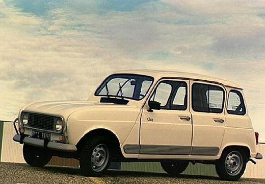 RENAULT R4 hatchback biały przedni lewy