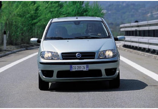 FIAT Punto II II hatchback silver grey przedni