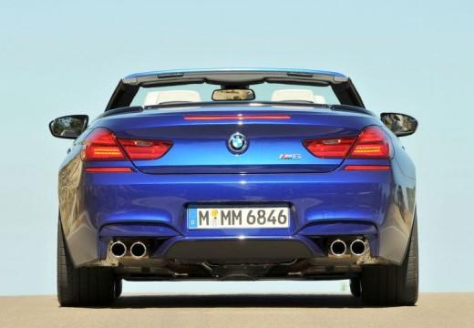 BMW Seria 6 Cabriolet F12 I kabriolet niebieski jasny tylny